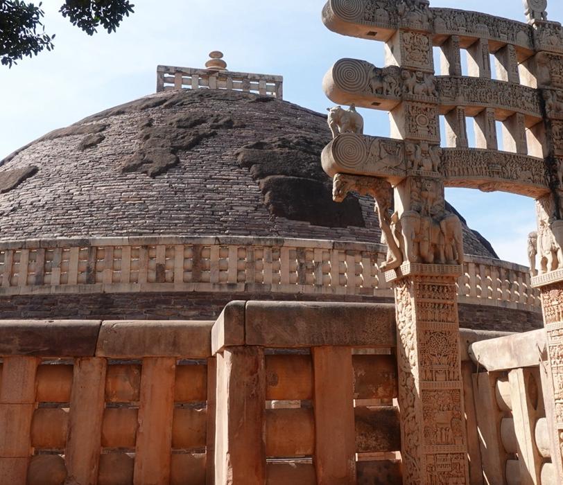 南印度佛教藝術 桑期大塔